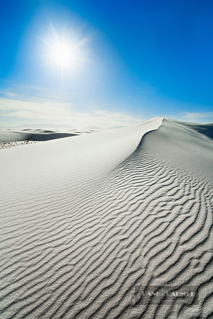 Gypsum desert White Sands - North America, USA, New Mexico, Otero, White Sands (Chihuahua Desert, White Sands National Monume...