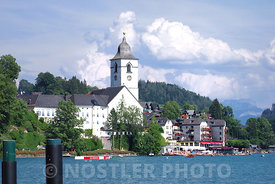 The romantic town of Sankt Johann im Pongau