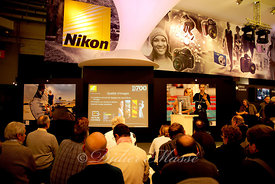 Conférence au stand Nikon Salon de la photo Paris 11/08