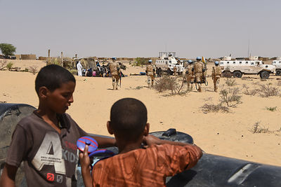 The return of displaced people from Koygouma to the Timbuktu region