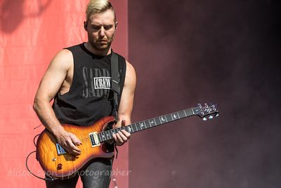 Dylan Bowman, guitar, I Prevail