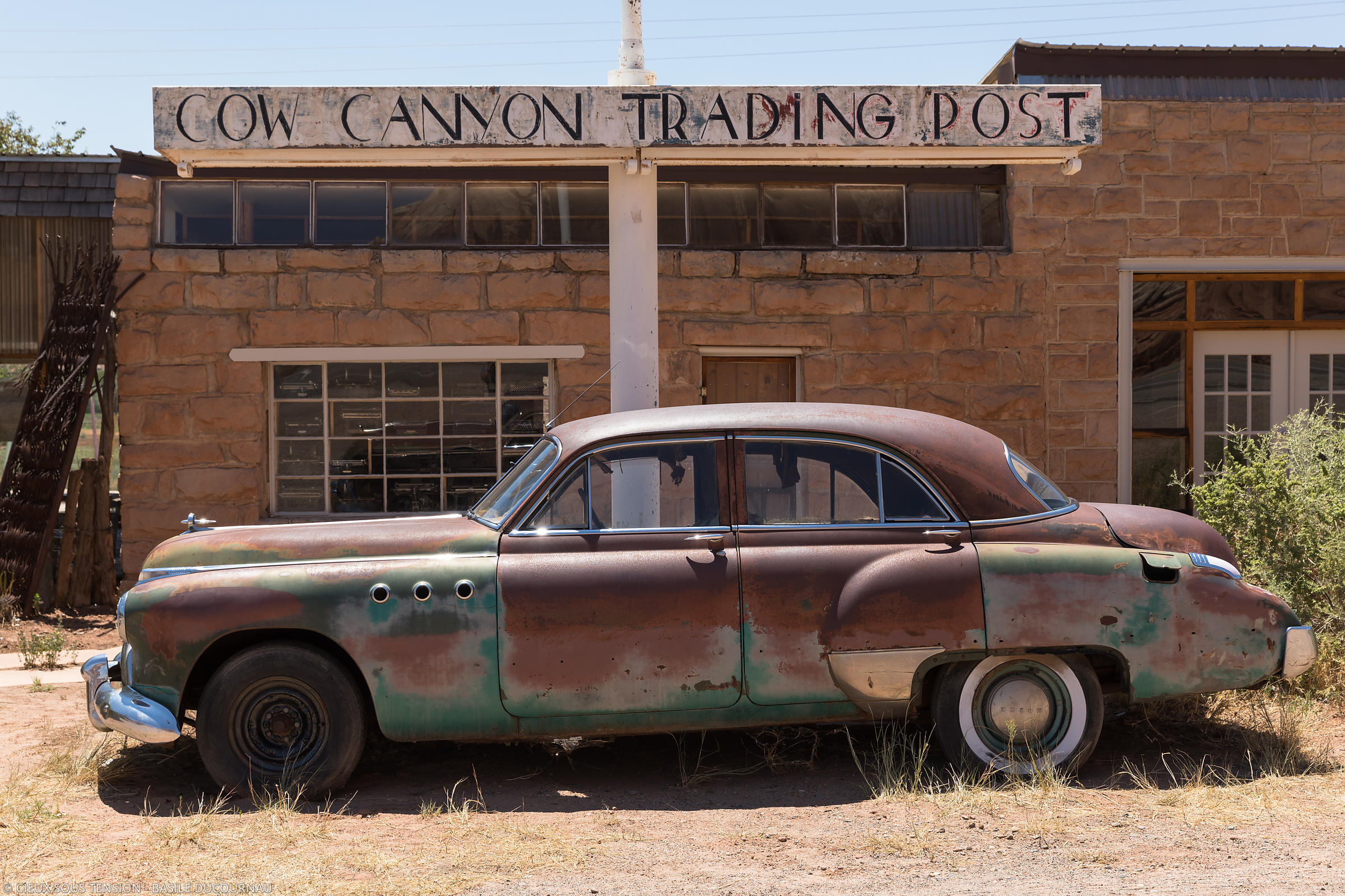 Cow Canyon Trading Post (Bluff, Utah, États-Unis).