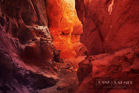 Slot canyon Little Wildhorse Canyon - North America, USA, Utah, Emery, Little Wildhorse Canyon (Colorado Plateau, San Rafael ...