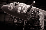 "C -47A ""Drag-em-oot"" gets a service 
