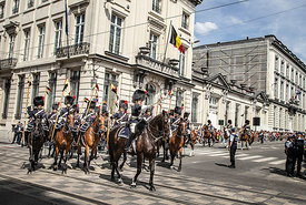 BELGIQUE : DEFILE DU 21 JUILLET DE L'ARMEE BELGE ET DU ROI PHILIPPE | 21 JULY PARADE OF THE BELGIAN ARMY AND THE KING PHILIPPE