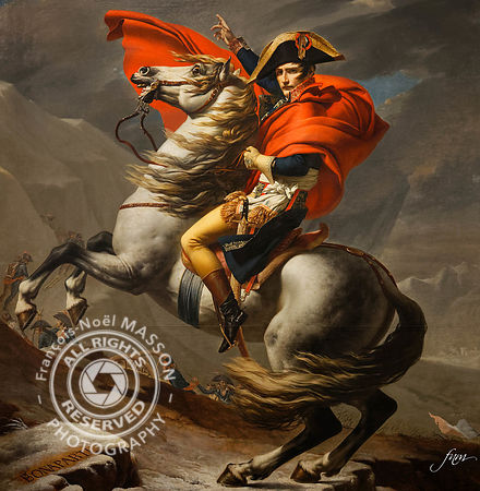 Napoléon - Jacques Louis David