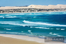 Ocean impression dunes at Almonta Beach - Australia, Australia, South Australia, Eyre Peninsula, Coffin Bay National Park, Al...