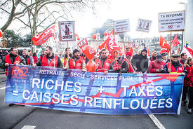 FRANCE : TROISIEME MANIFESTATION NATIONALE CONTRE LA REFORME DES RETRAITES LILLE | THIRD NATIONAL MANIFESTATION AGAINST PENSI...