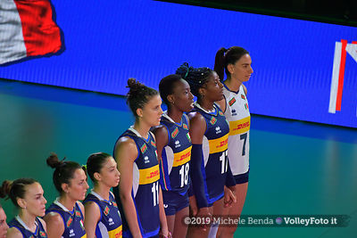 SERBIA - ITALIA / VNL Volleyball Nations League 2019 Women's - Pool 5, Week 2