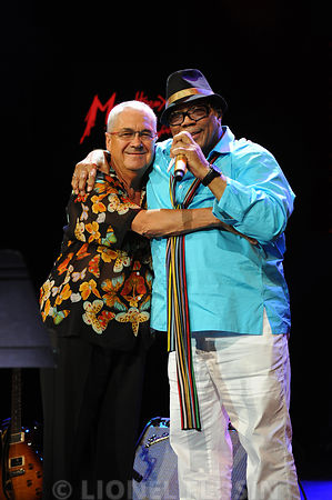 Claude Nobs et Quincy Jones
