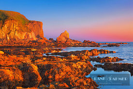 Cliff landscape at Bantham Bay - Europe, United Kingdom, England, Devon, Kingsbridge, Bantham Bay - digital - Masterfile imag...