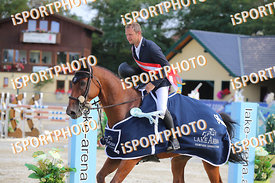 OPATRNY Ales (CZE) and FOREWER during LAKE ARENA Equestrian Summer Circuit II, CSI2* - Ostarrichi Grand Prix- 145 cm, 2019. 0...