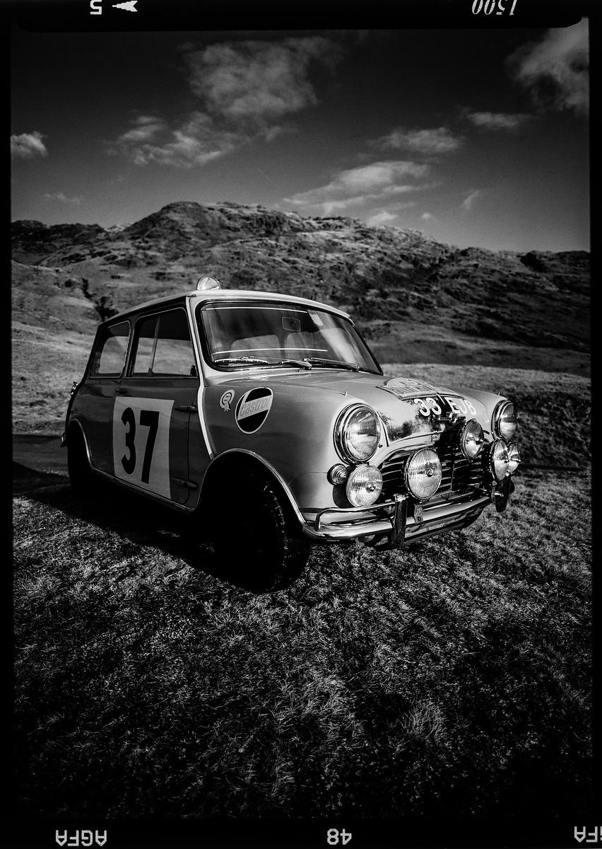 33 EJB Monte Carlo Winning Mini: 1998 Photographer Neil Emmerson  £975 inc uk vat:   Edition of 25.