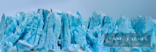 Glacier detail - South America, Argentina, Santa Cruz, Lago Argentino, south of Peninsula Magellanes (Patagonia, Andes, Pampa...