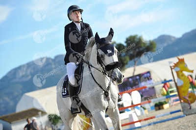 Oliva, Spain - 2020 February 2: Gold tour 1m50 - GP during CSI Mediterranean Equestrian Spring Tour 1.(photo: 1clicphoto)