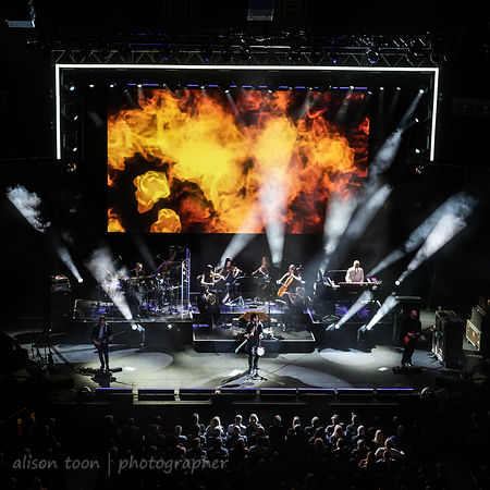 Marillion at the RAH with Friends from the Orchestra Monday 18 November 2018
