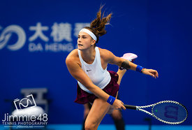 2019 WTA Elite Trophy, Tennis, Zhuhai, China, Oct 22