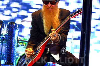 ZZ Top performing live 24 July 2010