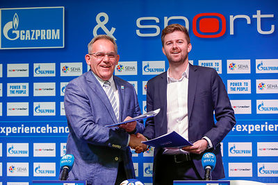 SEHA & Sportradar: Partnership signing