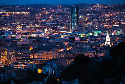 View of Marseille by Night