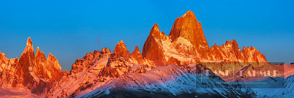Mountain impression Fitzroy Mountains - South America, Argentina, Santa Cruz, Los Glaciares, El Chalten, Mount Fitz Roy, El C...