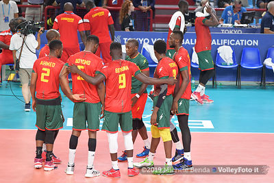 ITALIA vs CAMERUN, 2019 FIVB Intercontinental Olympic Qualification Tournament - Men's Pool C