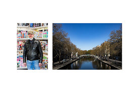 "Paris, France, 6 April 2020. Nicolas, newsagent in the 17th arrondissement of Paris: ""The other day, an old lady started cryi..."