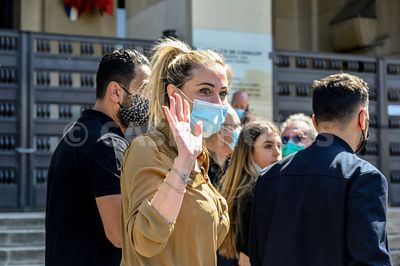 FRANCE : DES MANIFESTANTS FRANÇAIS DEMANDENT UN PROCÈS POUR LE TUEUR DE SARARH HALIMI - FRENCH PROTESTERS DEMAND TRIAL FOR SA...