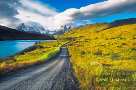 Mountain impression Torres del Paine - South America, Chile, Magallanes, Torres del Paine, Torres del Paine (Patagonia, Andes...