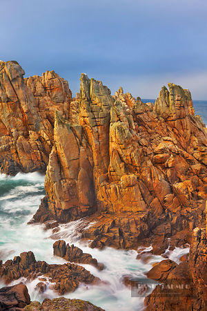 Rocky coast at Pointe de Creac'h - Europe, France, Brittany, Finistere, Brest, Ouessant, Pointe de Creac'h - digital - Master...