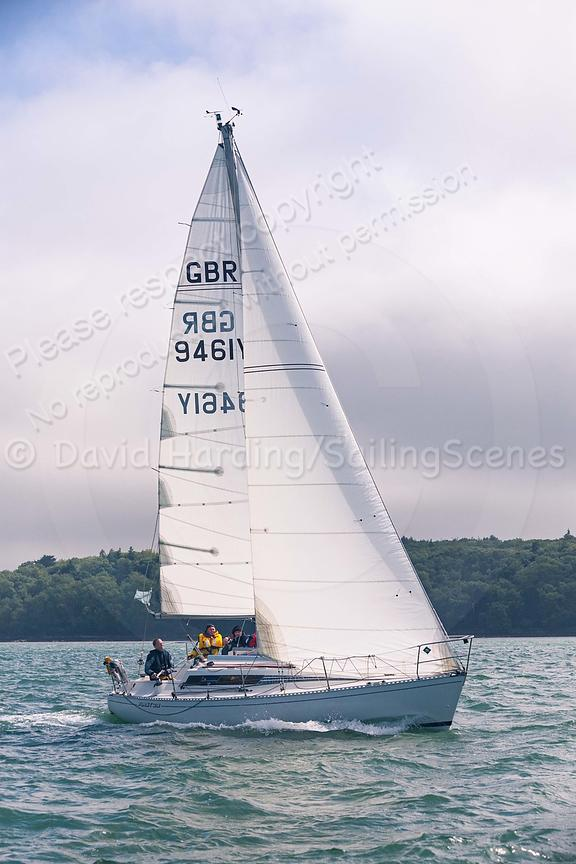 GBR9461Y, GBR 9461Y, Harvest Moon, a Beneteau First 29