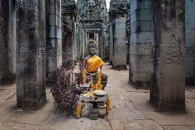 The Bayon Inside View