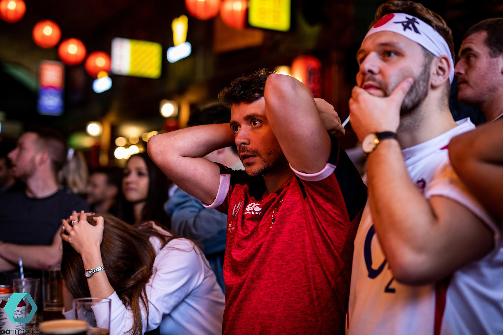 Fans Watching England v South Africa - 2019 Rugby World Cup Final