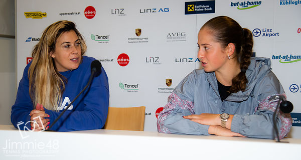 2019 Upper Austria Ladies Linz, Tennis, Linz, Austria, Oct 9