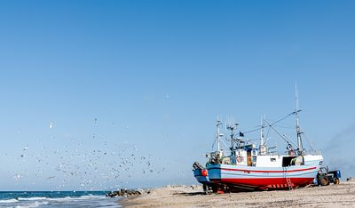 Fishing boats, Thorup Strand 35