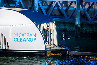 Rotterdam, October 26, 2019 - The Ocean Cleanup unveils the Interceptor, the first scalable river cleanup technology.
