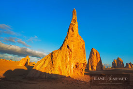 Erosion landscape Pinnacles - Australia, Australia, Western Australia, Midwest, Nambung Nationalpark, Pinnacles - digital