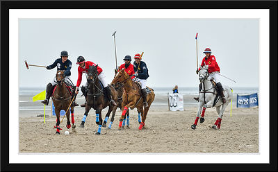 La Photo de la semaine  Lundi 04/04/2016 : Equitation - Touquet Scapa Polo Cup © 2016 Olivier Caenen, tous droits reserves