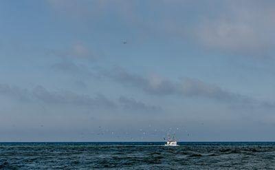 Fishing boats, Thorup Strand 8