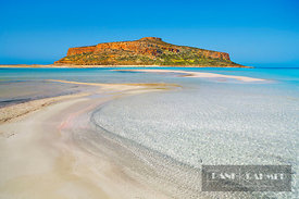 Ocean impression at Cape Tigani at Balos Bay - Europe, Greece, Crete, Chania, Gramvoussa, Balos Bay - digital