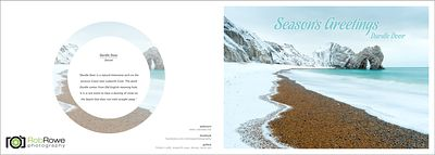Seasons Greetings Durdle Door