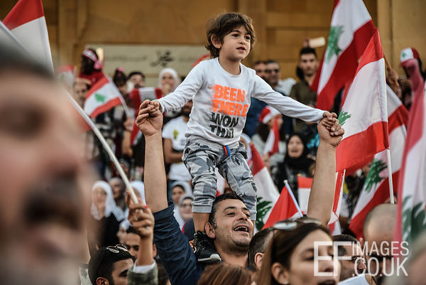 Protests in Beirut, October 2019
