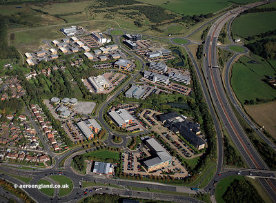 Thorpe Park Business Park, Leeds aerial photograph