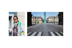 "Paris, France, March 18, 2020. Gayani, Cleaning Agent in the 4th district of Paris: ""I clean and disinfect all common surface..."