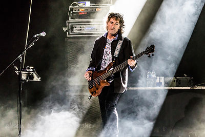 Pete Trewavas. bass, Marillion