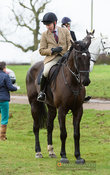 At the meet. The Cottesmore Hunt at Lowesby Grange Farm 14/1