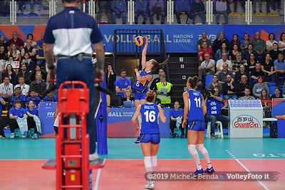 USA - ITALIA / VNL Volleyball Nations League 2019 Women's - Pool 5, Week 2