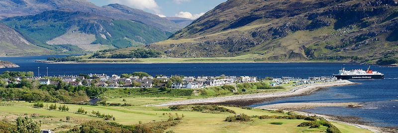 Image - View over Ullapool, Scotland