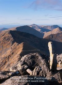 Image - Summit view from Clisham, Harris, Na h-Eileanan Siar, Scotland