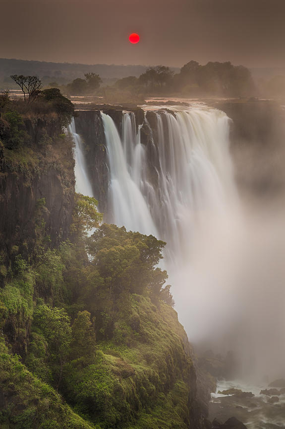 Vic Falls Sunrise